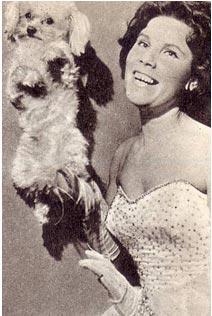 Антонина Польди со своим питомцем