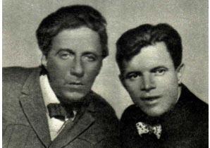 На фото. В. Э. Мейерхольд и В. Е. Лазаренко