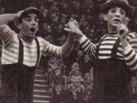 Клоуны Юле и Буби