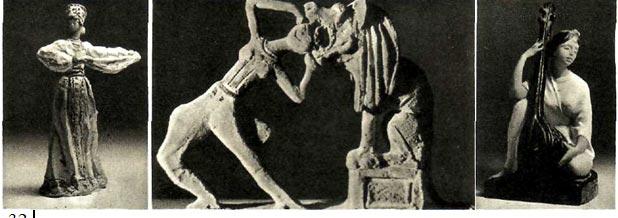 Оригинальные цирковые фигурки В. Сидура