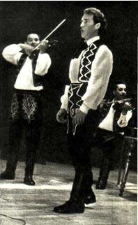 Любят в Закарпатье эстрадный ансамбль «Венгерские мелодии» и его солиста Ф. Неймети