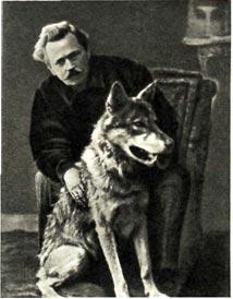 В.   Л.   Дуров   с   дрессированным   волком