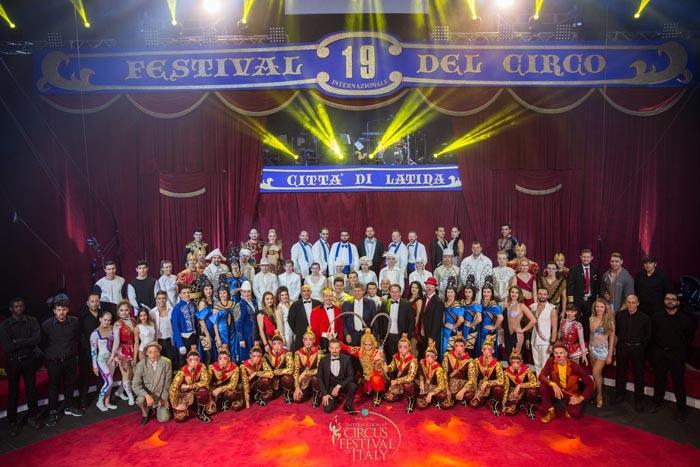 Золото фестиваля в Латине у артистов российского цирка