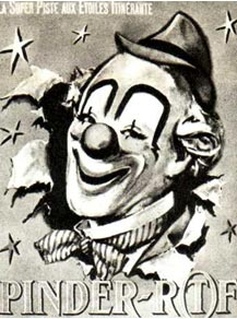 Программка цирка ПИНДЕРА