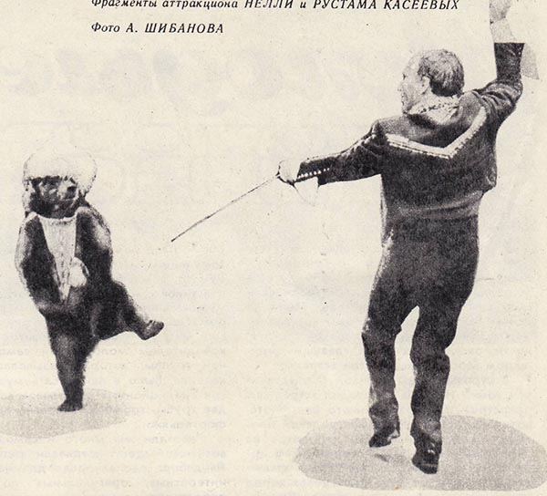 Медвежий цирк Нелли и Рустама Касеевых