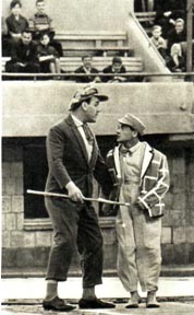 Клоуны  Г. Васин и С. Маргулян