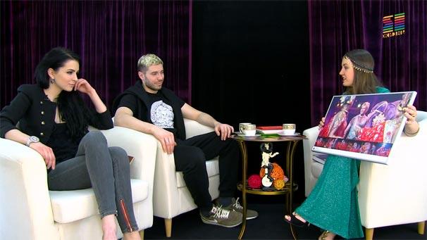 Андрей и Анастасия Дементьевы-Корниловы в программе «Circus Glamour»
