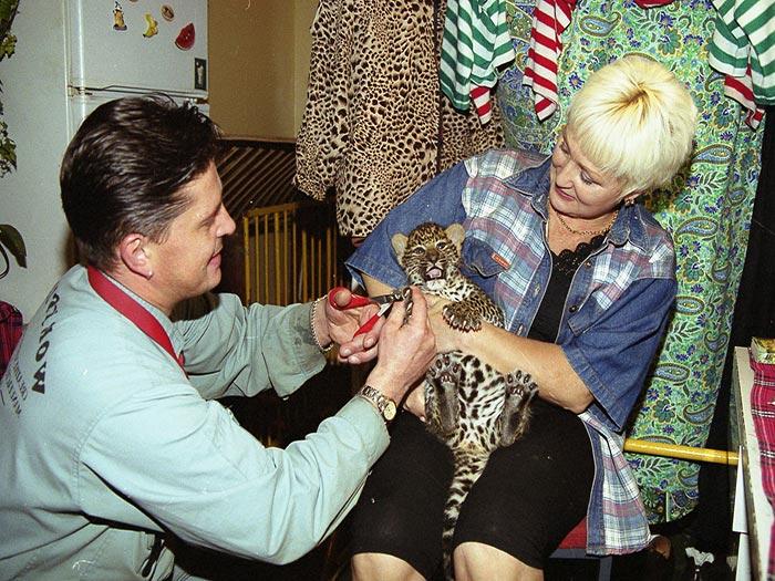 Леопард Марины Маяцкой