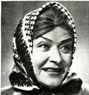 МАРИЯ МИРОНОВА в эстрадном спектакле «Кляксы»