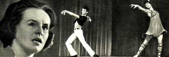 ГЕЛЕНА ВЕЛИКАНОВА. Танец «Сиртаки» исполняют Р. ГАТИНА и М. НЕГРУ