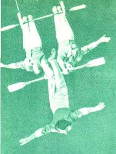 Воздушные гимнасты Папазовы
