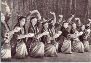 Государственный  ансамбль народного танца  Туркменской ССР
