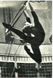 Люба Писаренкова станет воздушной гимнасткой
