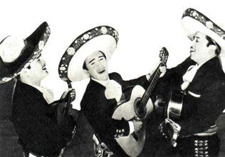 Трио Лос Мехиканос. Мексика