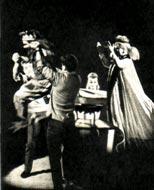 Сцена из представления «Девочка Виолика и клоуны Трень и Брень». Минский цирк.
