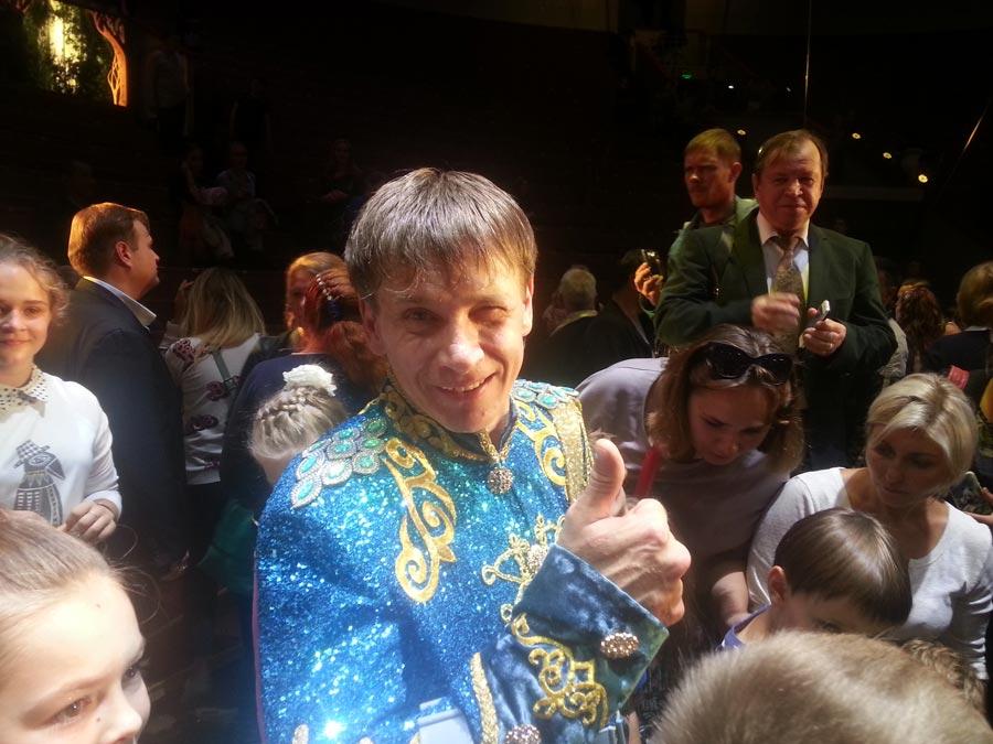 Виталий Смолянец стал обладателем высших наград на цирковом фестивале