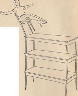 Балансирование на стульях