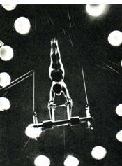 Воздушная гимнастка ГАЛИНА АДАСКИНА