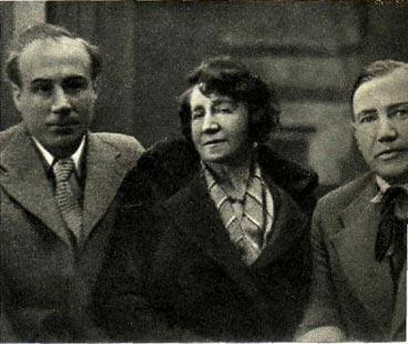 И.  С.  Козловский,  А. В.  Нежданова  и  Н.  С.  Голованов