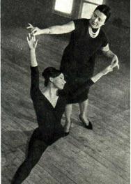 Анну Редель с ученицей