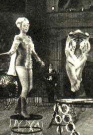 Дрессировщица хищников Валентины Кузнецовой