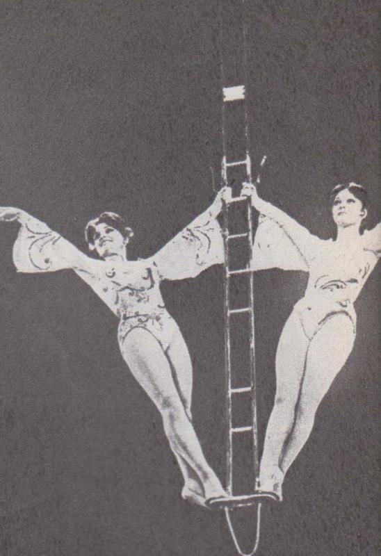Воздушные гимнастки сестры Петровы