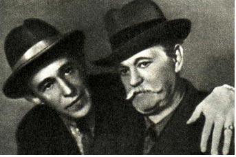 В. Л. Дуров (справа) и М. И. Пясецкого. (Из коллекции Р. Славского)