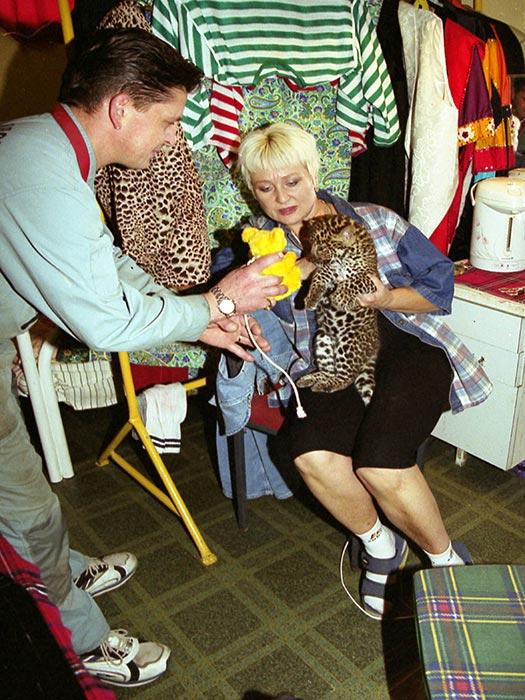 Охота на леопарда Марины Маяцкой