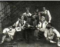 Снимок, подаренный М. Е. Пятницким Владимиру Ильичу Ленину. (Редкая публикация)