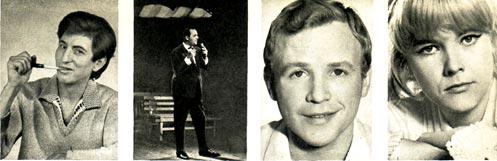 КЛАУС ЗОММЕР (ГДР), КИРИЛЛ СЭМОВ (Болгария), ЯН ЛЕВАНДОВСШЙ (Польша), ЭВА ПИЛАРОВА (Чехословакия)