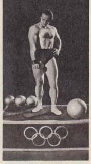 Силовой жонглер Борис Вяткин