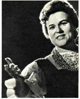 1962 г. В студии телевидения