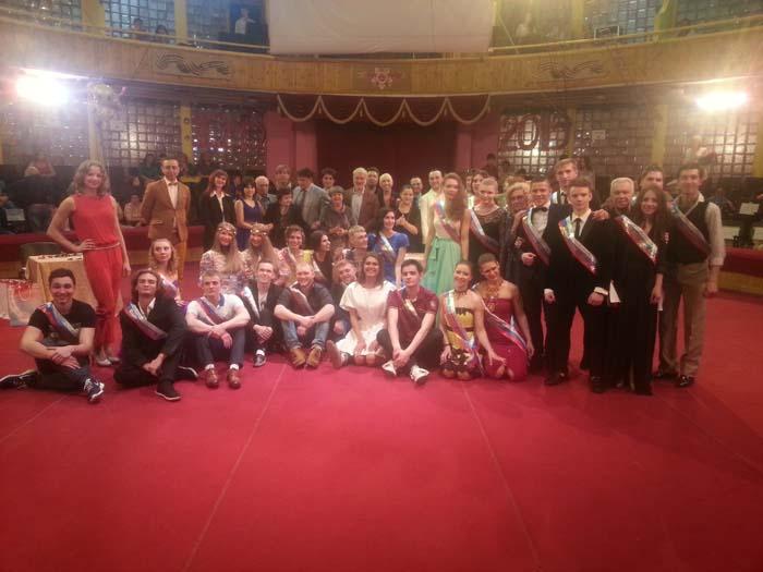 Выпускной спектакль «Победа 70-лет» в ГУЦЭИ 2015