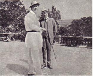 Ф. И. Шаляпин и В. М. Дорошевич