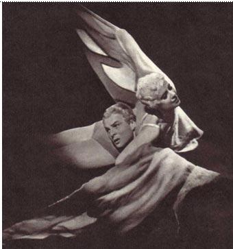 """На снимке: фрагмент танцевального номера """"Летите, голуби"""