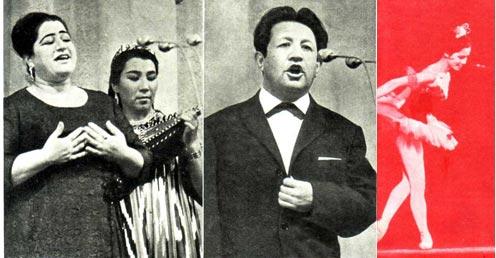 Ш. Муллоджанова поет о любви Голос А. Бабакулова летит навстречу солнцу Малике Сабировой придется танцевать на «бис»