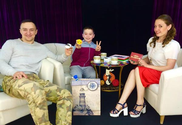 Владислав и Тимур Гончаровы в программе «Circus Glamour»