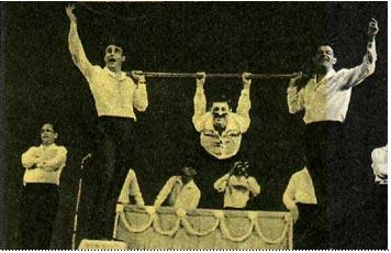 Песенка-скетч «Цирк» «Гимнаст» — Рене Мелла
