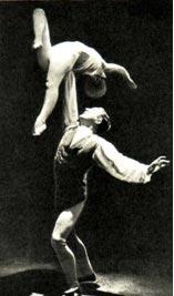 ДЖИМ и МЭРИ БРЕНТ (фотография конца 20-х годов. Из архива Ленинградского музея цирка