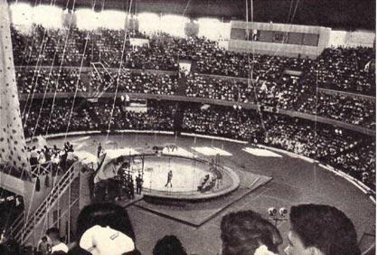 Дворец спорта в Гаване во время  наших гастролей был всегда заполнен зрителями