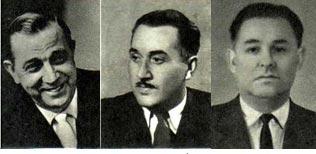 В. Цветков,  М. Джебраилов  И. Дубинский
