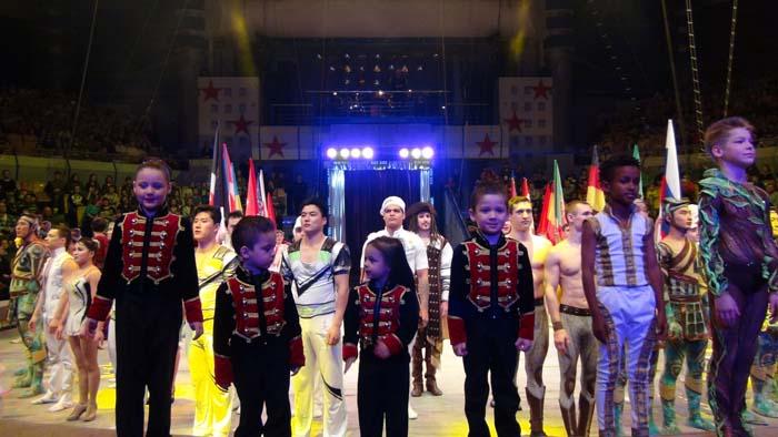 В Ижевске проходит 8-й Международный фестиваль циркового искусства