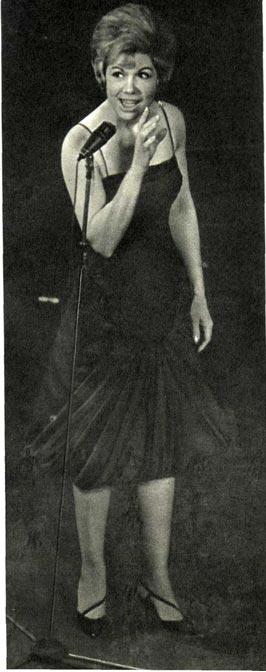 Певица Жаклин Франсуа