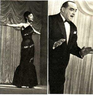 Лидия Корсакова и Тадеуш Олша