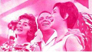 Трио «До  свиданья, до свиданья» в исполнении Хельги  Брауэр,  Вальтера Айхенберга, Ханэлёре Калин