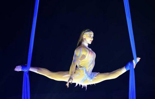 Екатерина Шустова участница 7-ого Международного фестиваля циркового искусства в Ижевске