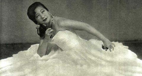 Алла Ким танцует «Сорронго»