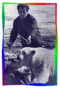 B.C. Синицкий на съемках известного фильма «Красная палатка»