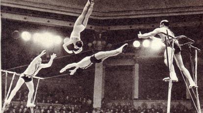 «Летающие акробаты» Арнаутовы