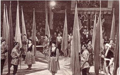 Парад-пролог юбилейного представления